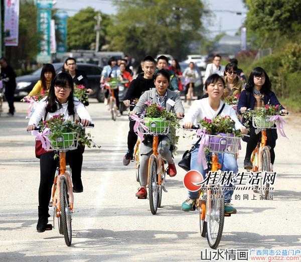 桂林叠彩花卉旅游文化艺术节昨日开幕