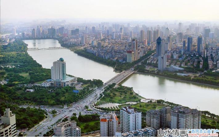 """南宁被评为南方最干净的省会城市,人称""""绿都"""""""
