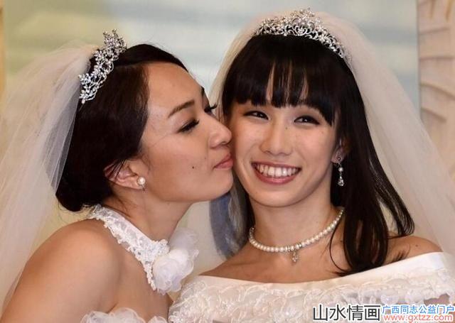 实拍美女同性恋结婚典礼现场,网友:祝福