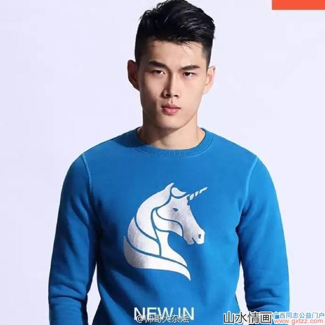 广州体育学院大帅哥袁境龙,阳光帅气还有点小可爱