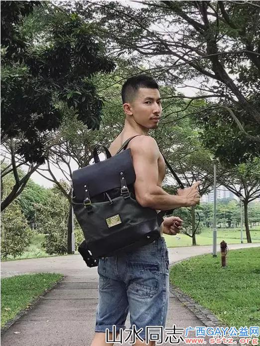 马来西亚籍华裔健身RON,男人的刚毅感爆棚