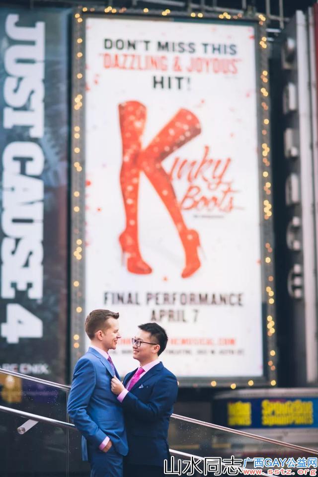 台湾同性婚姻合法续:我和老外男友结婚了!在1万公里外的美国
