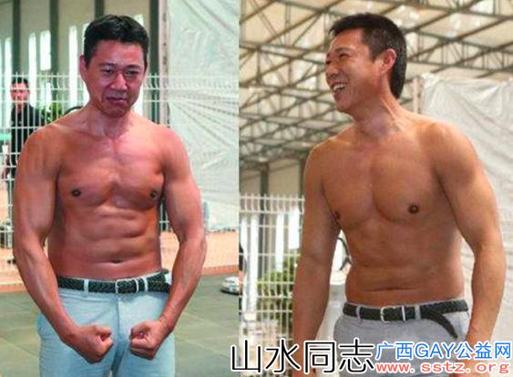 63岁的张丰毅练出一身肌肉,坦言:健身让我充满力气
