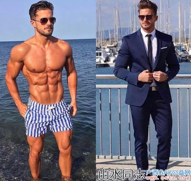 不同职业的男人,穿衣前后对比照,太帅了
