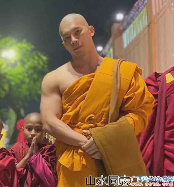他是泰国最帅和尚,身材好得让人想破戒