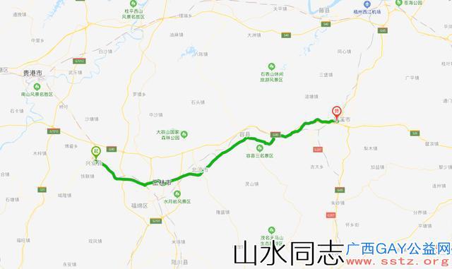 广西最厉害的三段国道,沿线汇集了广西众多经济强县(市)