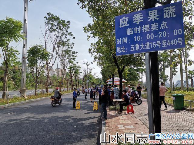摆摊经济火了:南宁市首批马路市场开张,玉米10元9个