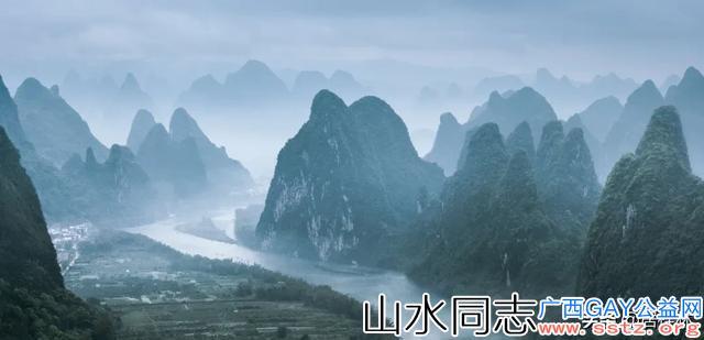 诗意桂林,一半山水一半城