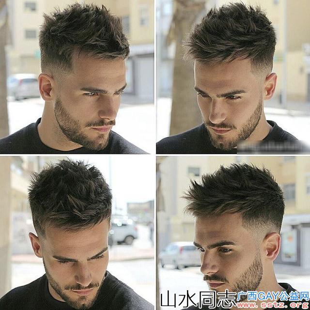 2020夏季适合男生的短发发型,帅气利落显气质,变身清爽男神